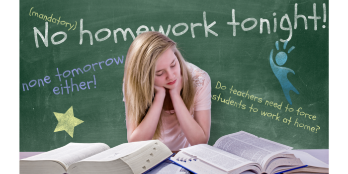 I'm a high school teacher and I no longer assign homework because. . .