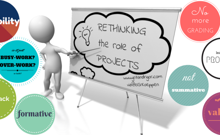 Rethinking the Role of Projects
